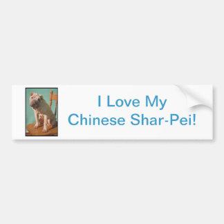 Chinese Shar-Pei Bumper Sticker
