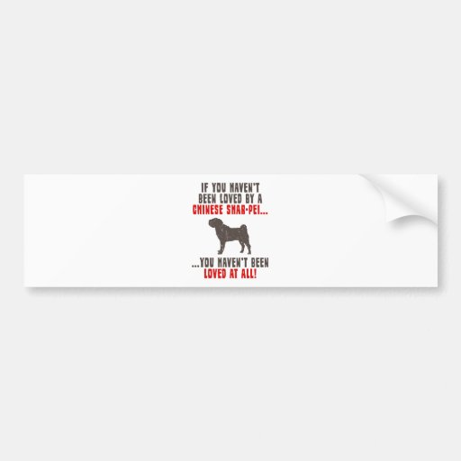 Chinese Shar-Pei Bumper Stickers