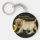 Chinese Shar-Pei Character Gifts Keychains