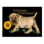 Chinese Shar-Pei Character Gifts Post Cards