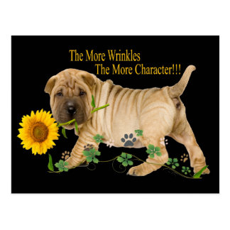 Chinese Shar-Pei Character Gifts Postcard