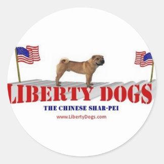 Chinese Shar-Pei Classic Round Sticker