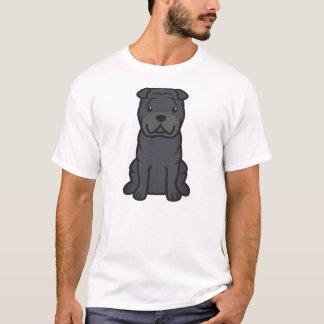 Chinese Shar-Pei Dog Cartoon T-Shirt