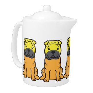 Chinese Shar-Pei Dog Cartoon