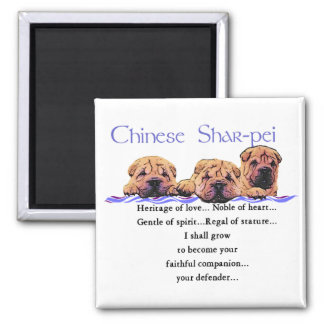 Chinese Shar-pei Gifts Magnet