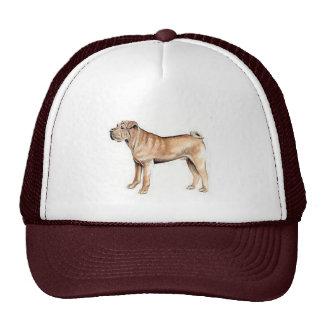 Chinese Shar-Pei Mesh Hat