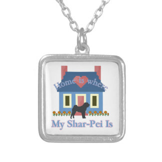 Chinese Shar-Pei Home is Where Pendants