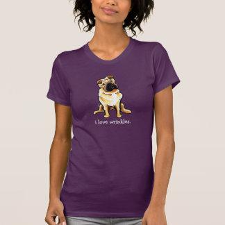 Chinese Shar Pei Off-Leash Art™ Love Wrinkles T-Shirt