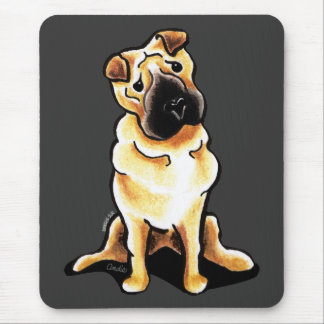 Chinese Shar Pei Off-Leash Art™ Mouse Pad