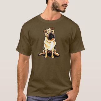 Chinese Shar Pei Off-Leash Art™ T-Shirt