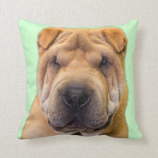 Chinese Shar Pei Portrait Pillow