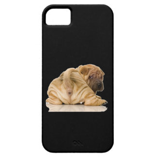 Chinese Shar-pei Puppy Dog iPhone 5 Cases