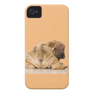 Chinese Shar-pei Puppy Dog iPhone 4 Case