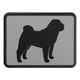 Chinese Shar-Pei Silhouette Hitch Covers