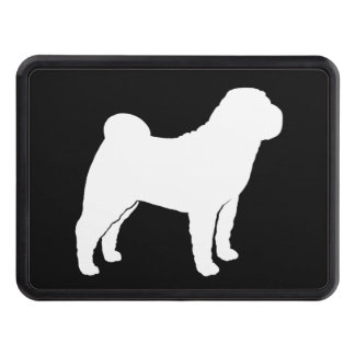 Chinese Shar-Pei Silhouette Trailer Hitch Covers