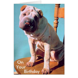 Chinese Shar-Pei Stationery Note Card
