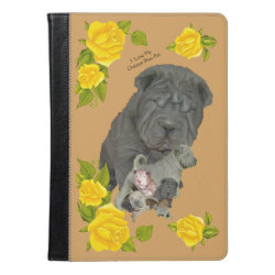 iPad Air Folio Case by Ivoke with Shar-Pei Phone Cases design