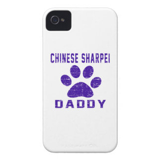 Chinese Sharpei Daddy Gifts Designs iPhone 4 Covers
