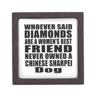 CHINESE SHARPEI DOG BEST FRIEND DESIGNS KEEPSAKE BOX