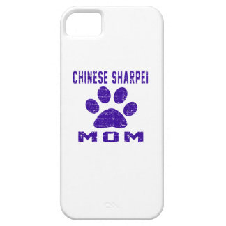Chinese Sharpei Mom Gifts Designs iPhone 5 Cases