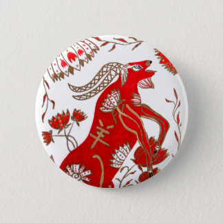 Chinese Sheep Astrology Pinback Button