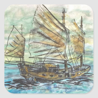 Chinese Ship Stickers