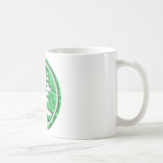 Chinese sign for victory coffee mug