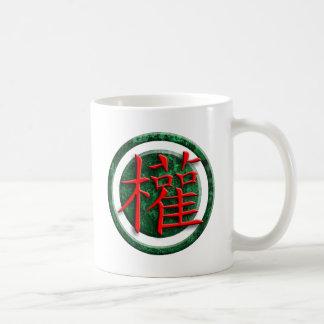 Chinese sign power coffee mug