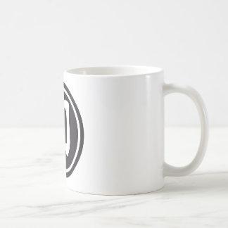 Chinese sign sword coffee mug