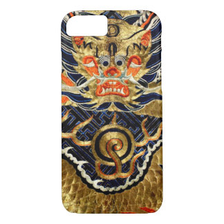 Chinese Silk Dragon Embroidery iPhone 8/7 Case