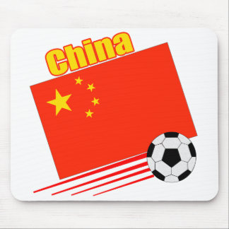 Chinese Soccer Team Mouse Pads