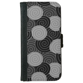 Chinese Spirals Geometric Pattern iPhone 6/6s Wallet Case