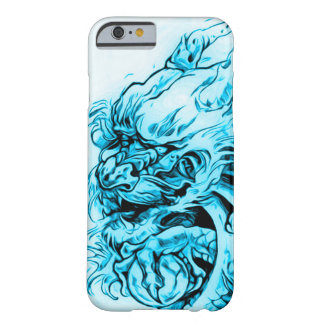 Chinese Spirit Dragon Art Nouveau Barely There iPhone 6 Case
