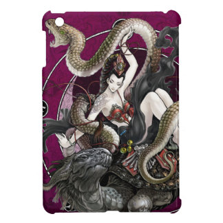Chinese Spirit of the Turtle Snake iPad Mini Covers