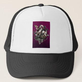 Chinese Spirit of the Turtle Snake Trucker Hat