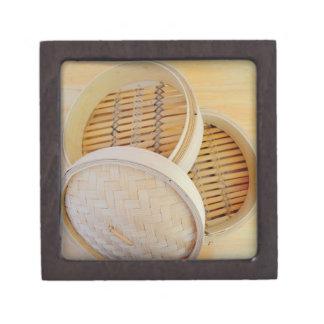 Chinese Steamer Basket Gift Box