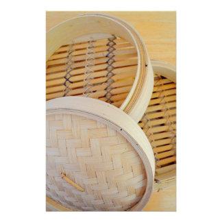 Chinese Steamer Basket Stationery