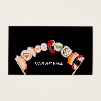 Chinese Stuff / Restaurant / Store Sushi Business Card