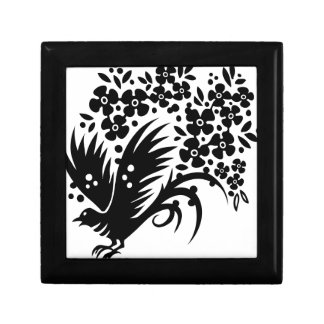CHINESE SWIRLS DOVE PEACE FLORAL ABSTRACT RANDOM B GIFT BOX