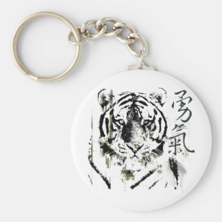 Chinese Symbol Courage Keychain