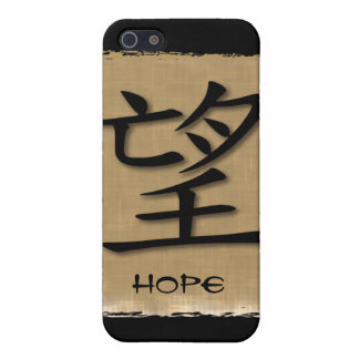 Chinese Symbol For Hope On Bamboo iPhone SE/5/5s Cover