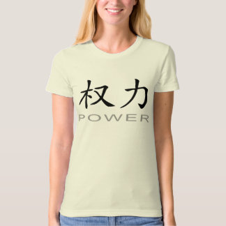 Chinese Symbol for Power T-Shirt