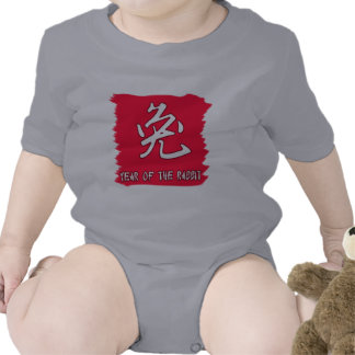 Chinese Symbol for Rabbit Yr of the Rabbit Romper