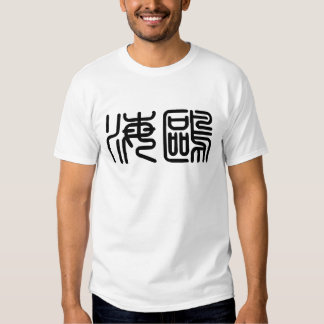 Chinese Symbol for seagull Shirt
