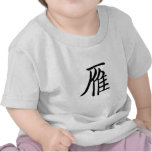 Chinese Symbol for wild goose T-shirt