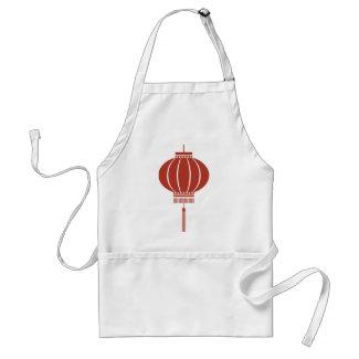 Chinese symbol, lantern, vintage, gift zazzle_apron