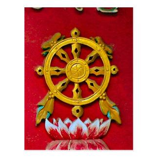 Chinese symbolism postcard