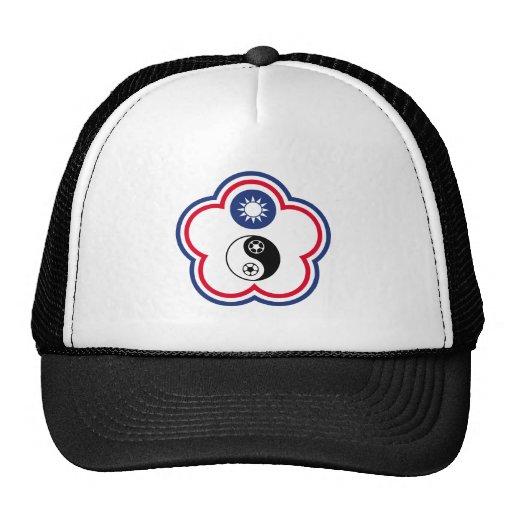 Chinese Taipei Football Team, China flag Mesh Hat