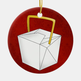 Chinese Take Out - SRF Christmas Tree Ornaments