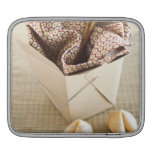 Chinese takeout container and fortune cookies sleeve for iPads